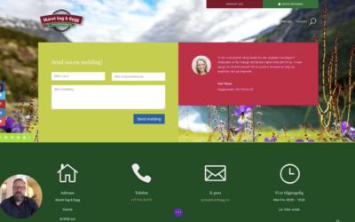 Lær hvordan du lager en flott kontaktside